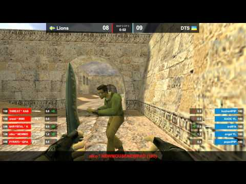 DTS vs. Lions dust2 map 2