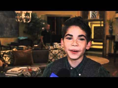 Cameron Boyce On Set 'Jessie' Interview