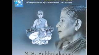 MS Subbulakshmi-Anandamruthakarshini-Amrithavarshini-aadi-muthuswamy deekshitaar