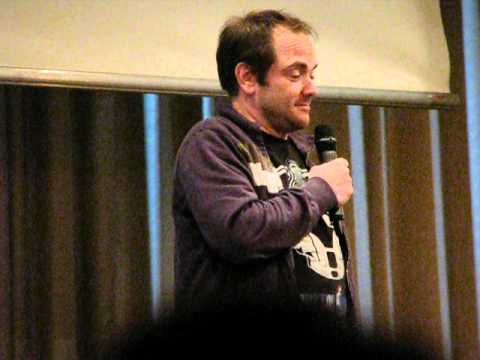 Asylum Europe 3 - Mark Sheppard about Crowley's accent, hellhounds and the Tardis