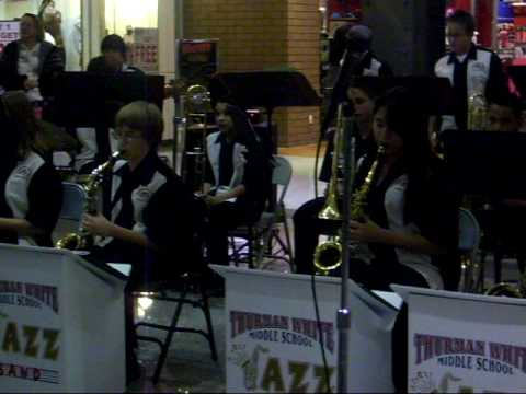 Thurman White Middle School Jazz Band 2009 Part2