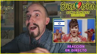 """REACCIÓN a Netta """"TOY"""" (ISRAEL) EUROVISION 2018 I edusanzmurillo"""