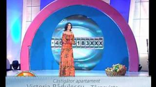100% Adevarat - Extragere  Ed.2 - Castigator:  Victoria Radulescu