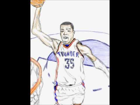 Kevin Durant Drawing Drawing Kevin Durant