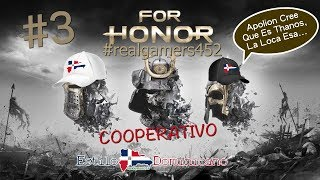 For Honor Modo Historia Cooperativo #3 Samurais EL FINAL Español Latino... Directo.