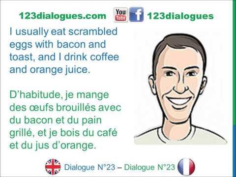 Dialogue speed dating anglais — 8