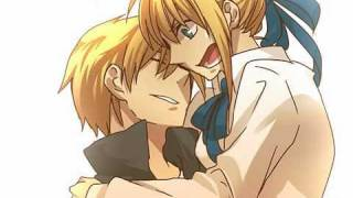 (MAD)Fate/Stay Night-Gilgamesh x Saber-The Daily life of Saber and Gilgamesh