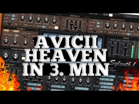 HOW TO MAKE: Avicii - Heaven LEAD IN 3 MIN. | Original Presets For Sylenth1 2019 |  Sylenth Patch