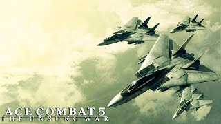 Military Cargo Transports Shot Down | Ace Combat 5 The Unsung War | PS4 | Mission #10 Gameplay