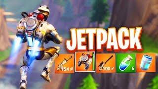 NEW JETPACK GAMEPLAY in Fortnite