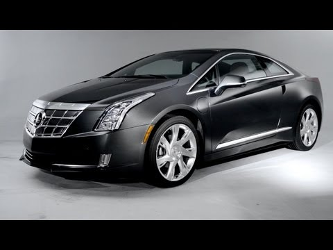 2014 Cadillac ELR Revealed @ 2013 Detroit Auto Show - CAR and DRIVER