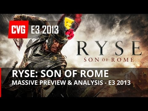 Ryse: Son of Rome Preview & Analysis - E3 2013