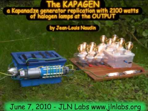 The KAPAGEN v3.2 with 2100 Watts of Halogen lamps at the OUTPUT