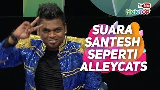 Download Lagu Suara Santesh seperti Alleycats, betul ke? | MeleTOP | Jihan Muse & Nabil Gratis STAFABAND