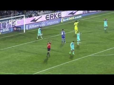 Lionel Messi Vs Luck!  HD