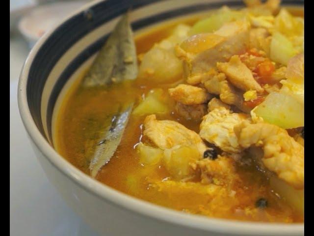 Ginisang Upo at Manok Recipe Pinoy Chicken Tagalog Filipino cooking