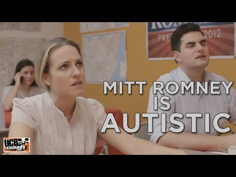 Mitt Romney is Autistic: a PARODY by UCB s The Punch