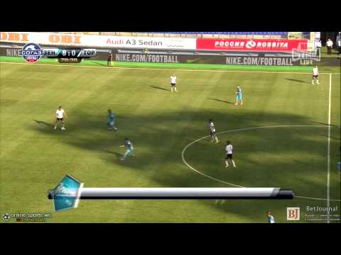 Alexander Kerzhakov Second goal- Zenit 8-0 Torpedo Moskva (RFPL 2014/15)