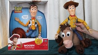WOODY Talking Action Figure 👀 BULLSEYE TOY STORY Doll 👈