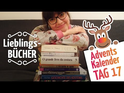 Meine Lieblings-Bücher über Nähen und Mode // Adventskalender Tag 17