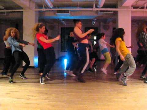 Vybz Kartel Put It On Hard Tavia and Tamara Dancehall Class @ BDC
