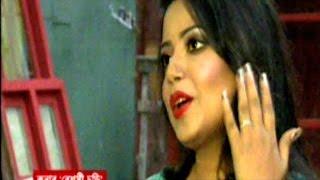 BD Singer Kona in New Music Video Shooting Spot & She Talking On Mic, luxshobiz