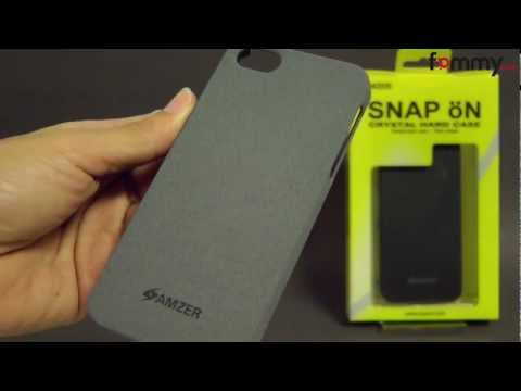 Amzer® Organics Snap On Shell iPhone 5 Case Review
