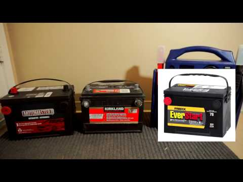 Budget Automotive Batteries - Costco / Walmart / Canadian Tire - Cost Differences