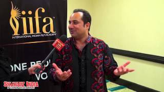 Rahat Fateh Ali Khan sings a special song only for Reshma and Showbiz India TV!