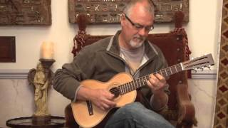 Andy Mackenzie tests Paul Brett's Viator (Travel Guitar)