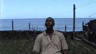 Bequia whaler chanting Yankee whaling inspired songs.