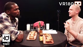 "Hot Wings With ""First We Feast"" HOT ONES in VR180"