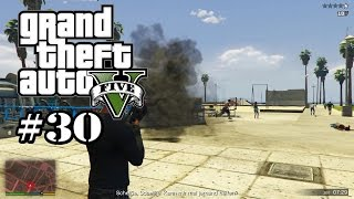 GTA 5 - Mord mit vielen Zielen (Lets Play #30) Grand Theft Auto Let´s Play