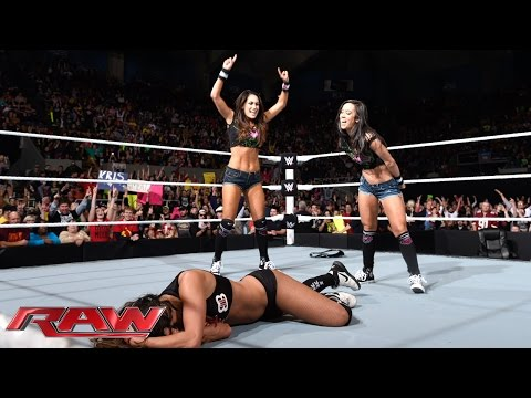Brie Bella Vs. Aj Lee: Raw, November 17, 2014 video