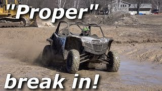 Breaking in our new Arctic Cat Wildcat XX! 0-60, jumps, drifts!