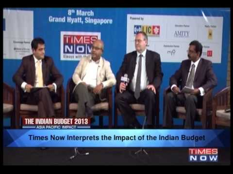 The India Budget 2013 - Asia Pacific Impact (Part 2)