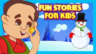 Fun Stories For Kids Learning | Miser And His Gold and More | Kids Video