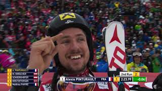 Marcel Hirscher - Focus on father and son