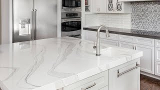 How To DIY Faux Marble Countertops For Under $100, According To a Pro Designer