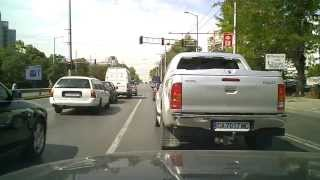 Bulgaria Travel - Driving in Sofia