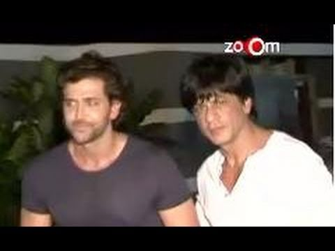 Hrithik Roshan&Shahrukh Khan attend Maheep Kapoor' birthday bash