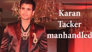 Karan Tacker gets manhandled on the set of The Voice India - TOI