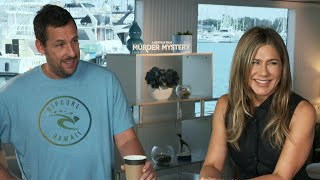 'Murder Mystery': Jennifer Aniston and Adam Sandler (Full Interview)