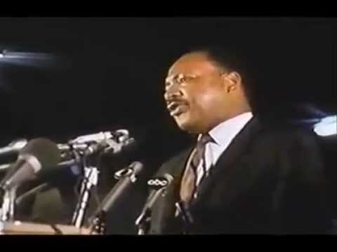 Martin Luther King's Last Speech April 3,1968. video