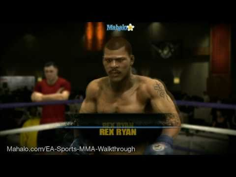 EA Sports MMA Career – 1st Pro Fight