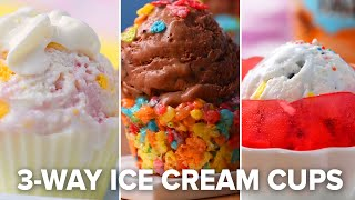 How To Make Edible Ice Cream Cups 3 Ways • Tasty