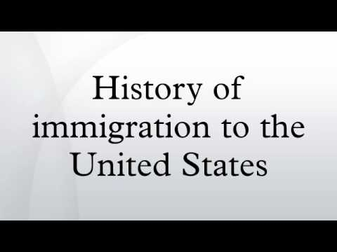 a history of immigration acts in the united states The history of immigration law in the united states provides an interesting  backdrop  the act suspended all immigration of chinese laborers for ten years  and.