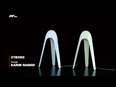 Emiliana Martinelli presents Cyborg, design Karim Rashid