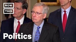 How the Government Shutdown Shows Mitch McConnell's Hypocrisy | NowThis