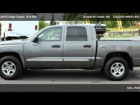 2005 Dodge Dakota Laramie 4WD - for sale in ; Bonney Lake  WA __ WE ARE RV'S __ ;, WA 98391
